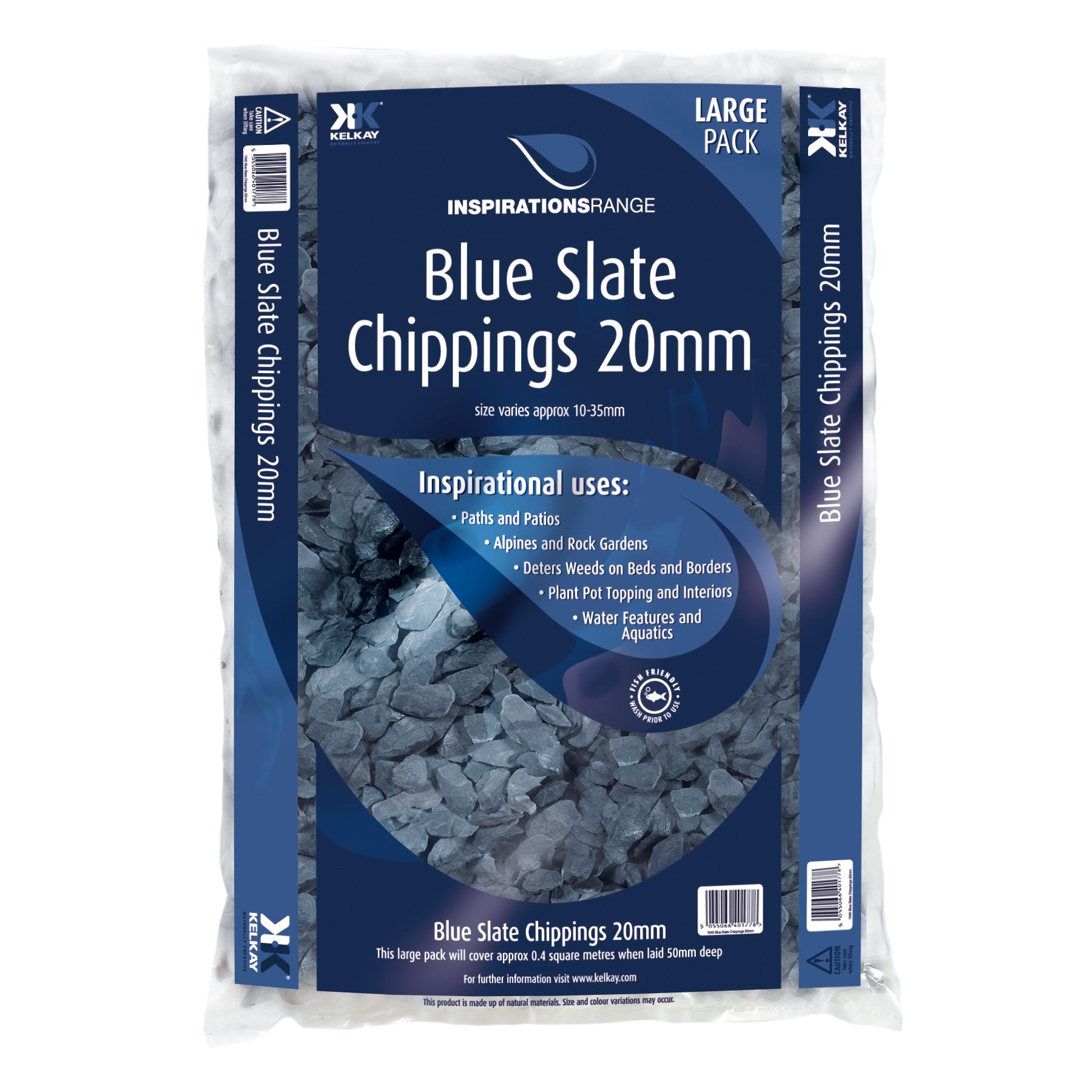 Blue Slate 20kg bag