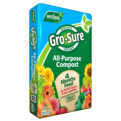 Westland Gro-Sure All Purpose Compost 50L