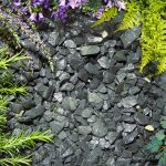 Gravels, slate and play sand