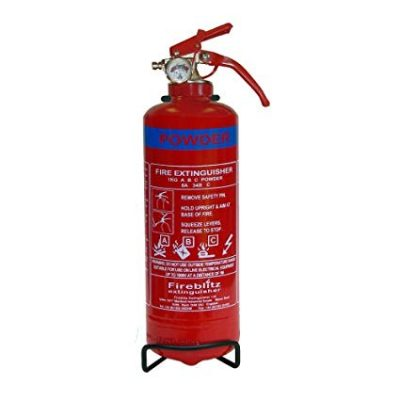 FireBlitz ABC Dry Powder Fire Extinguisher with Gauge