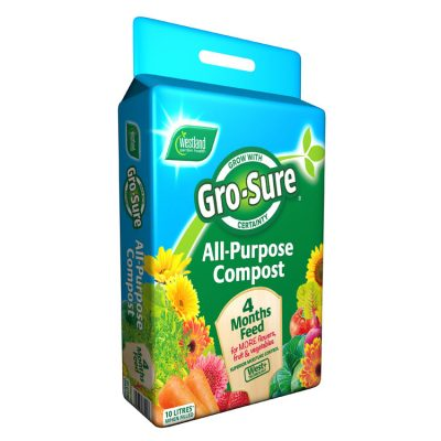 Westland Gro-Sure All Purpose Compost 10L