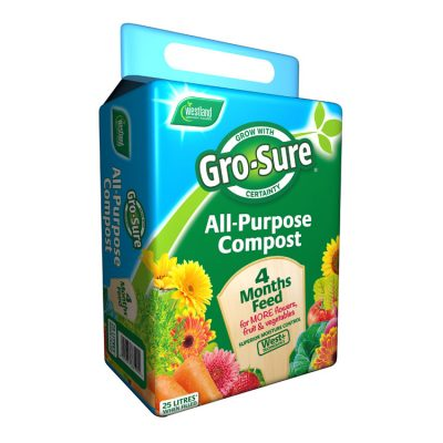 Westland Gro-Sure All Purpose Compost 25L