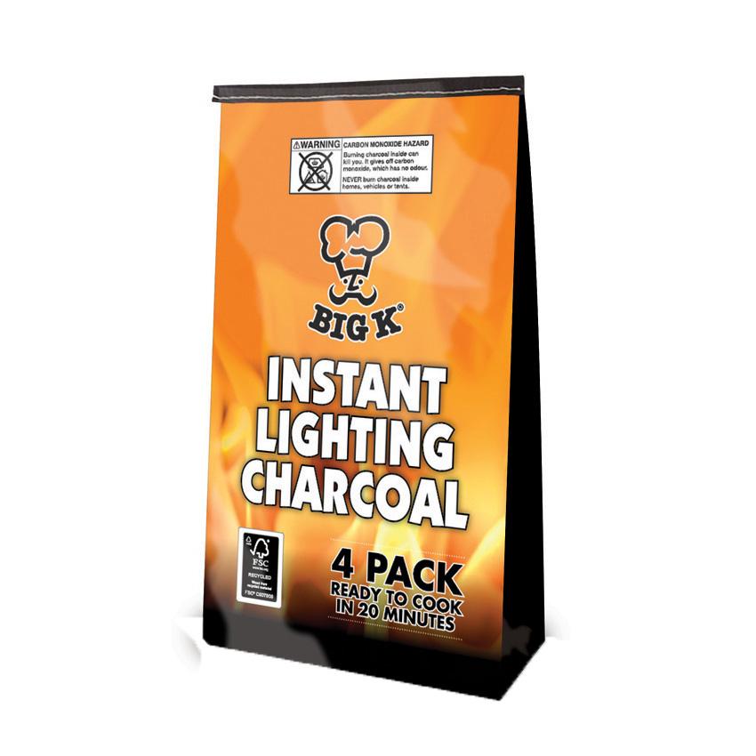 Instant Light Lumpwood Charcoal