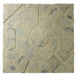 Minster Paving Octagon Feature - Rustic Sage
