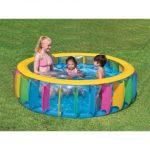 multi coloured pool