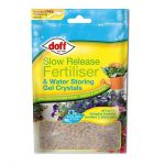 Doff Slow Release Fertiliser and Water Retaining Gel Crystals