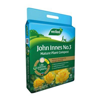 John Innes No 3 Mature Plant Compost 10L