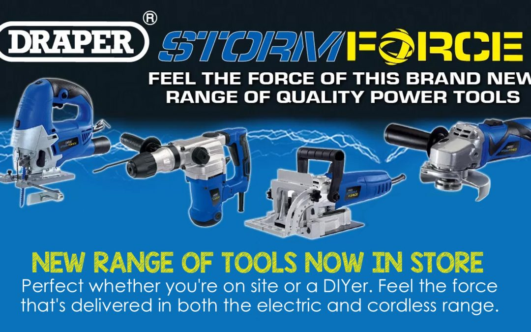 New range of tools in stock