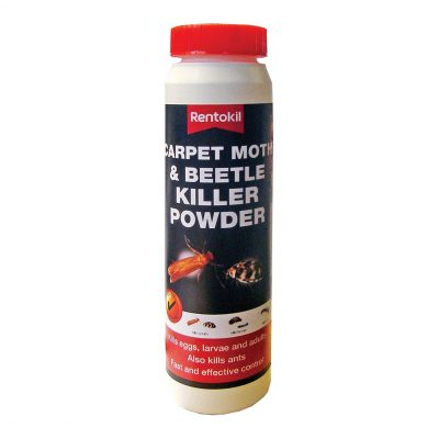Rentokil Carpet Moth & Beetle Killer Powder