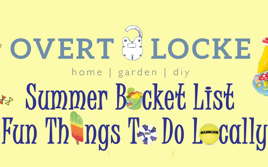 Summer Bucket List-Fun Things To Do Locally Printout For Kids & Families