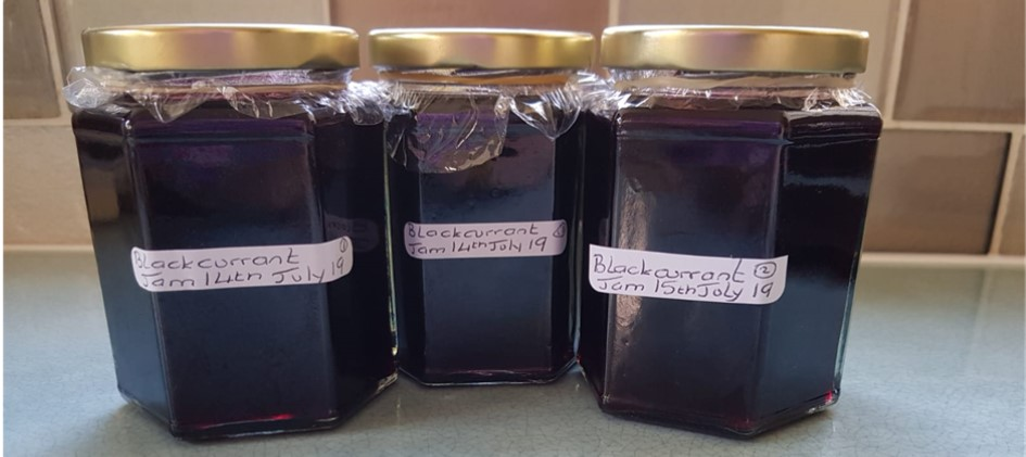 Blackcurrant Jam Recipe
