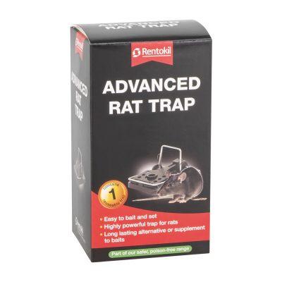 Advanced snap trap for rats