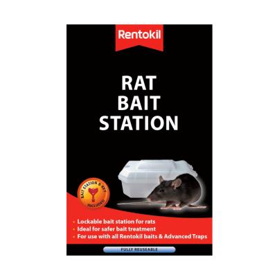 Plastic Rat Bait Station with Key