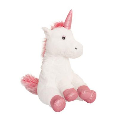 Soft cuddly unicorn hot water bottle