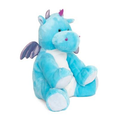 Soft cuddly dragon hot water bottle