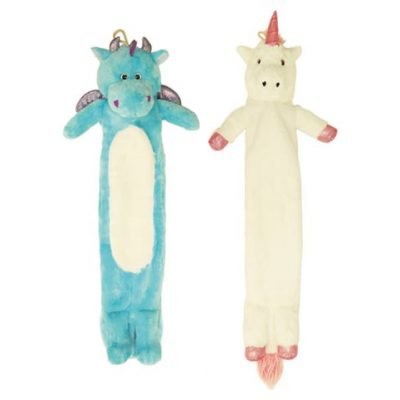 Dragon and Unicorn Long Hot Water Bottles