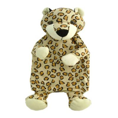 Soft Leopard Hot Water Bottle