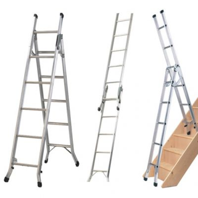Abru Combination 3-way Ladder