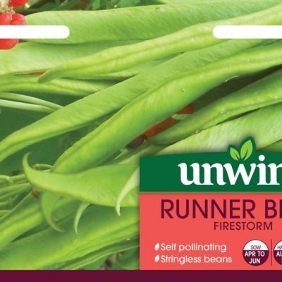 Unwins Seeds Runner Bean Firestorm