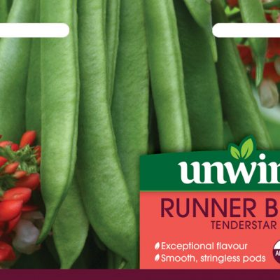 Unwins Seeds Runner Bean Tenderstar