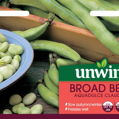 Unwins Seeds Broad Bean Aquadulce Claudia
