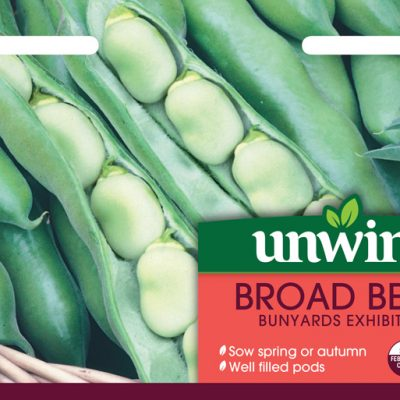 Unwins Seeds Broad Bean Bunyards Exhibition