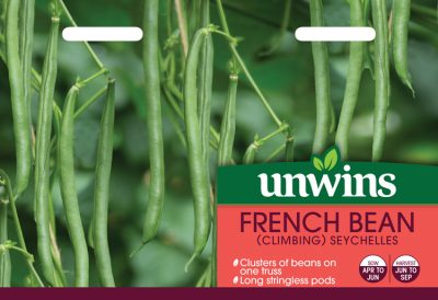 Unwins Seeds French Bean Seychelles