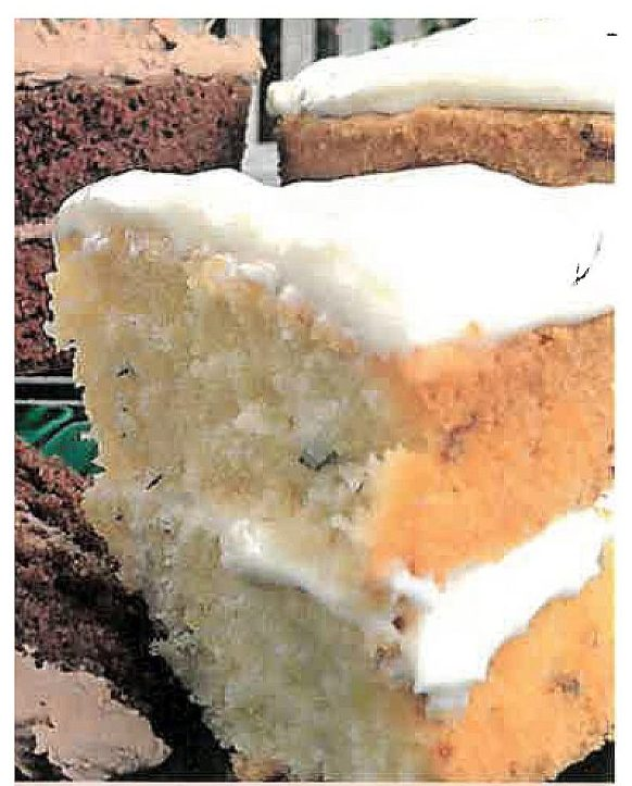 Courgette and lime cake