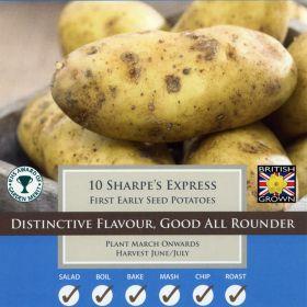 Seed Potatoes Sharpes Express
